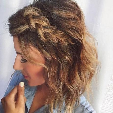 Fryzury Sylwestrowe Włosy Półdługie