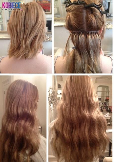 Fryzury Z Doczepianych Włosów