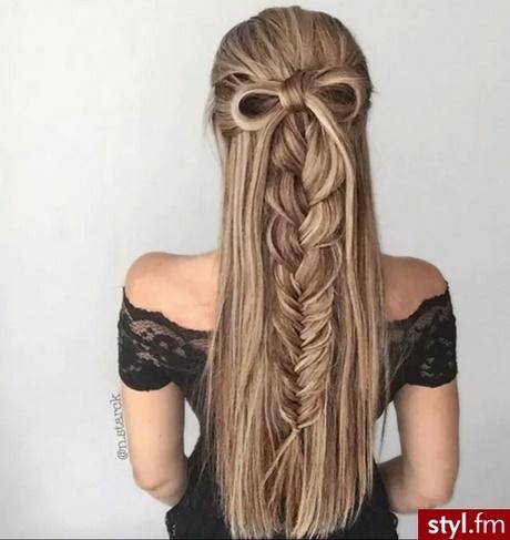 Fryzury Z Długich Prostych Włosów