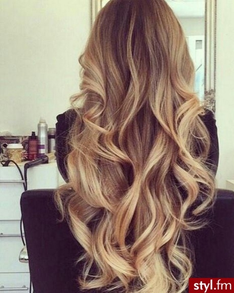 Fryzury Z Długich Rozpuszczonych Włosów