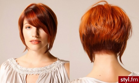 Rude Włosy Fryzury