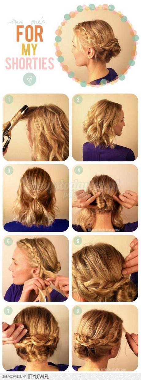 Szybkie Fryzury Na Krótkie Włosy