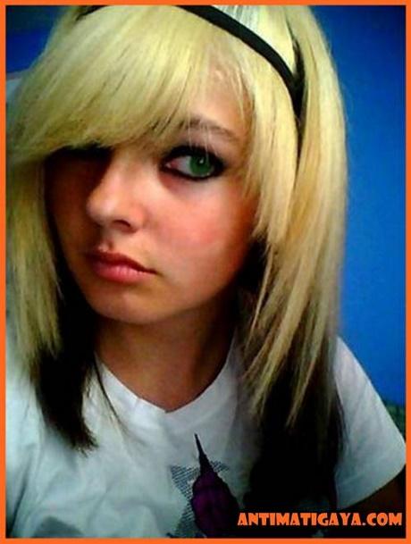Włosy Czarno Blond