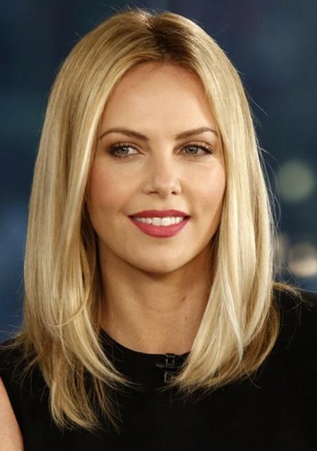 Włosy Półdługie Blond