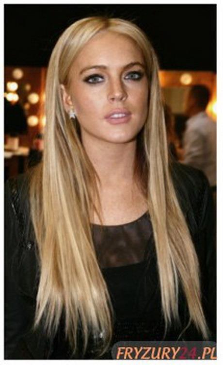 Fryzury Blond Wlosy