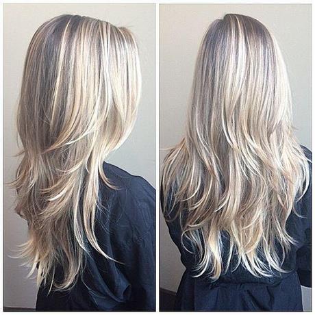 Fryzury Damskie Długie Włosy Cieniowane