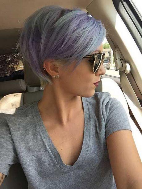 Fryzury Na Krótkie Siwe Włosy