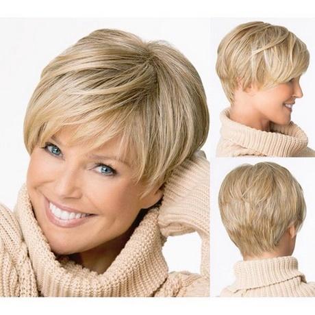 Fryzury Na Krótkie Włosy Dla Pań Po 50