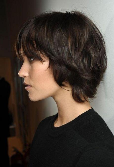 Krótkie Fryzury Dla Falowanych Włosów