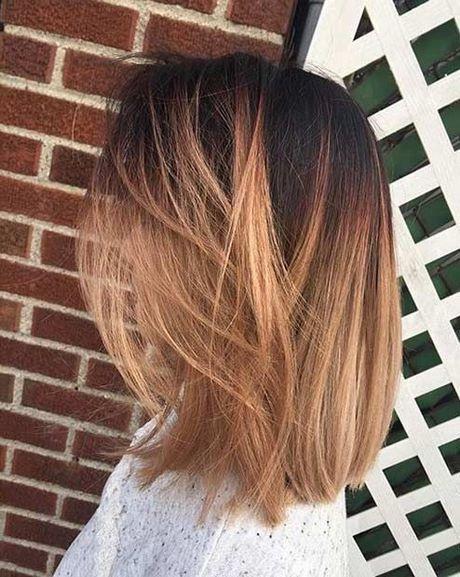 Ombre Krótkie Włosy