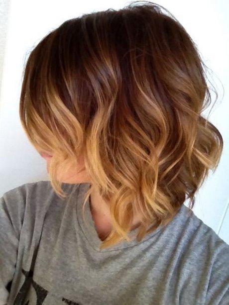 Sombre Włosy Półdługie