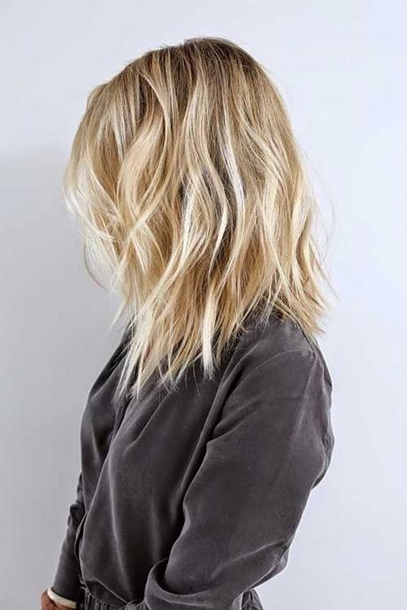 Włosy Blond Do Ramion Fryzury