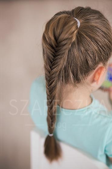 łatwe Fryzury Dla Dziewczynek Krok Po Kroku