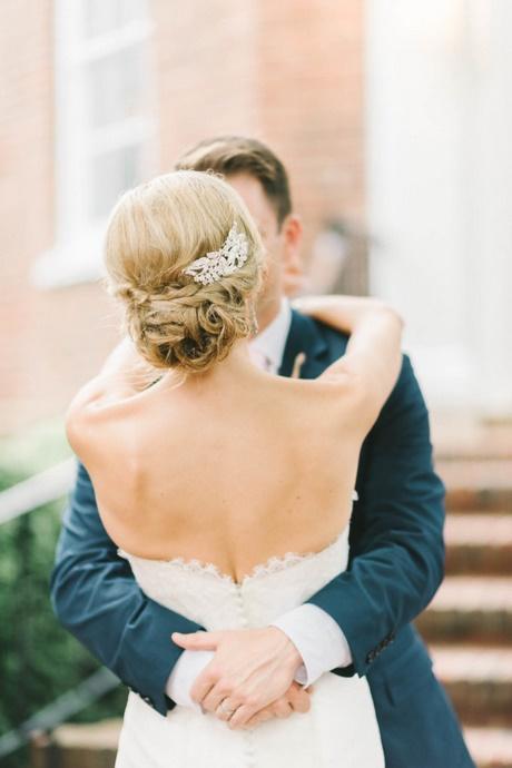 Fryzura ślubna Upięcie
