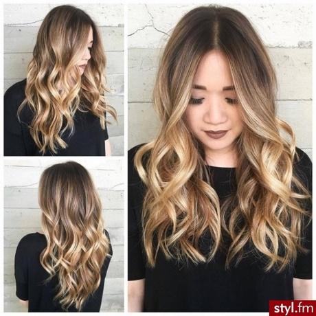 Fryzury Falowane Włosy
