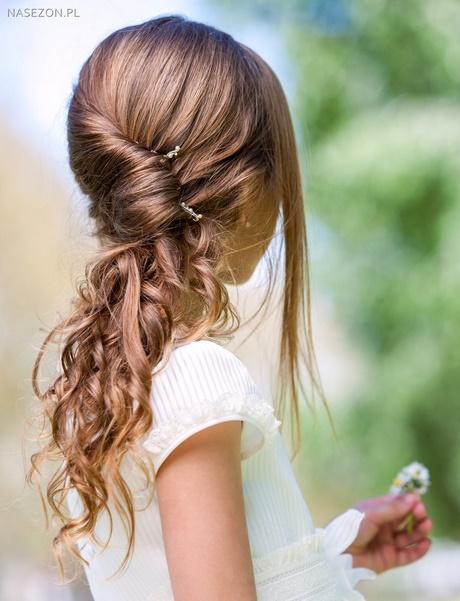 Fryzury Na ślub Dla Dzieci