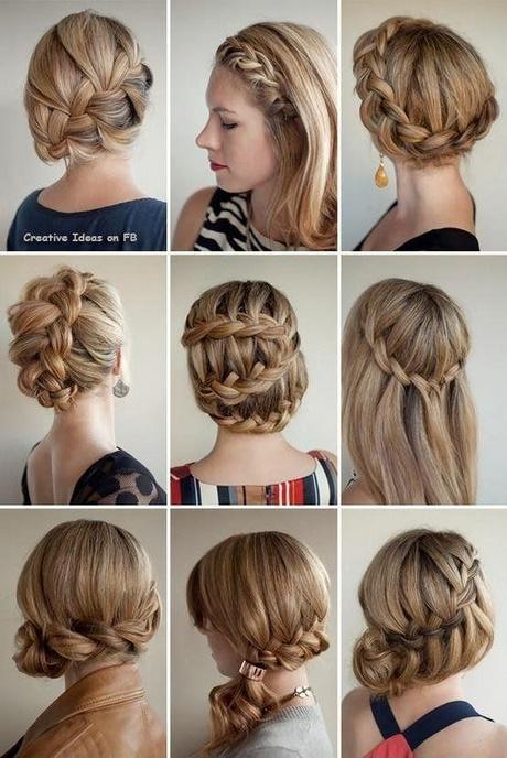 Upięcia Dla średnich Włosów