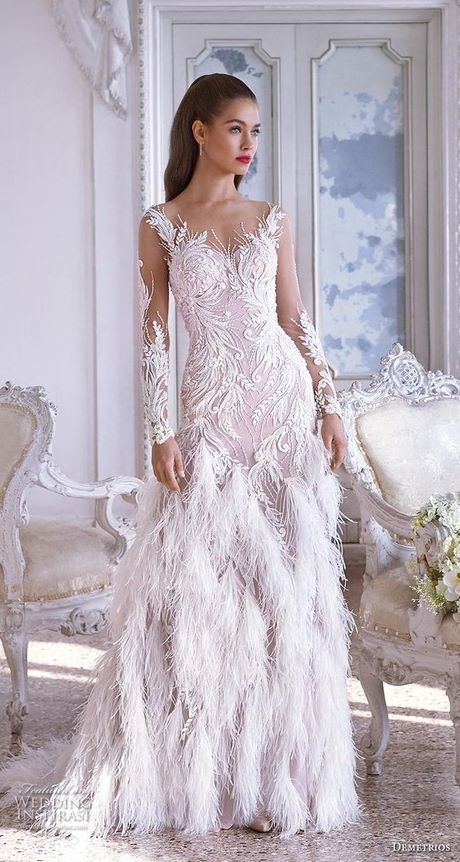 917a80ded8 Suknia ślubna Isabelle Armstrong Fall 2018. Trendy ślubne 2019 ...