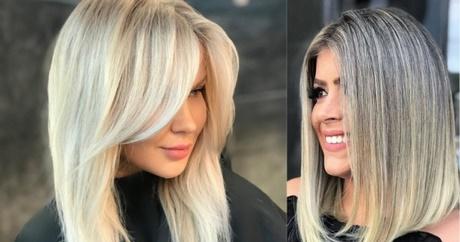 Fryzury średnie Włosy 2019