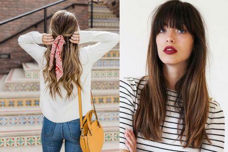 Modne Fryzury 2019 Damskie Długie Włosy
